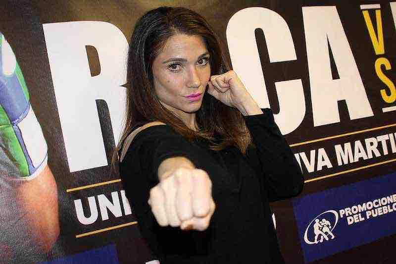 """La """"Sexy"""" boxeadora Dulce García deja la lucha por el boxeo"""