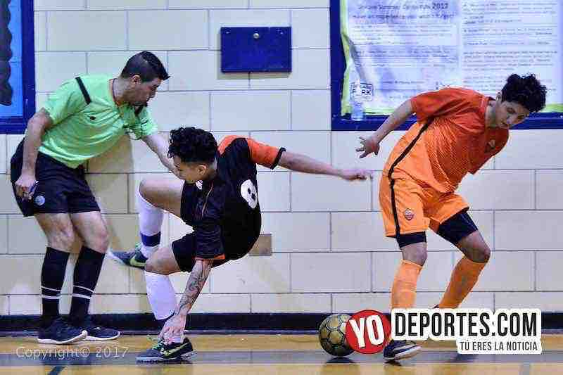 Internacional-USA final Liga Diablitos-Ivan Gomez