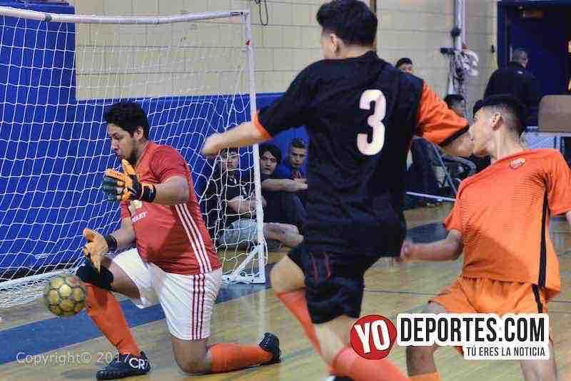Internacional contra USA final Liga Diablitos