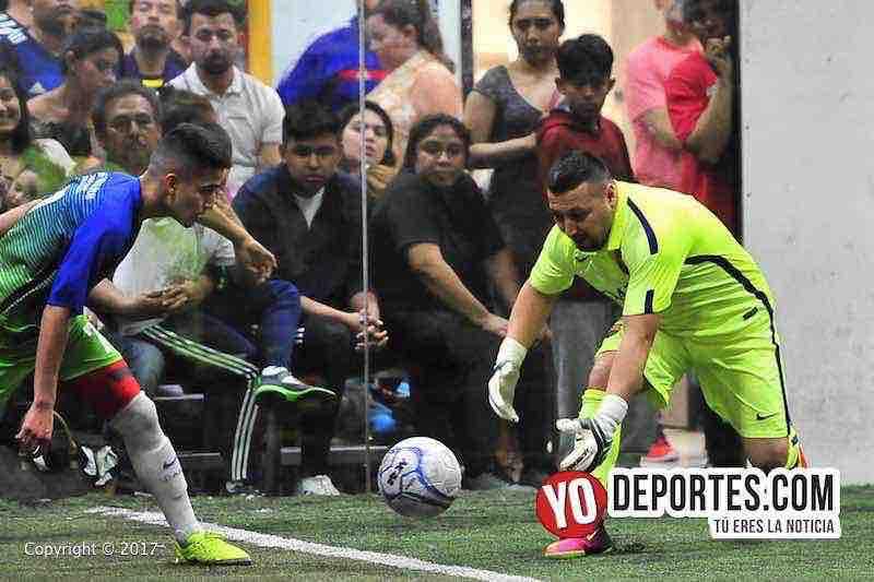 La Barona-Ludovico y su Banda-Final-Champions-Liga Latinoamericana-portero