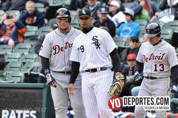 Miguel Cabrera-Jose Abreu-White Sox-Detroit Tigers-Opening Day