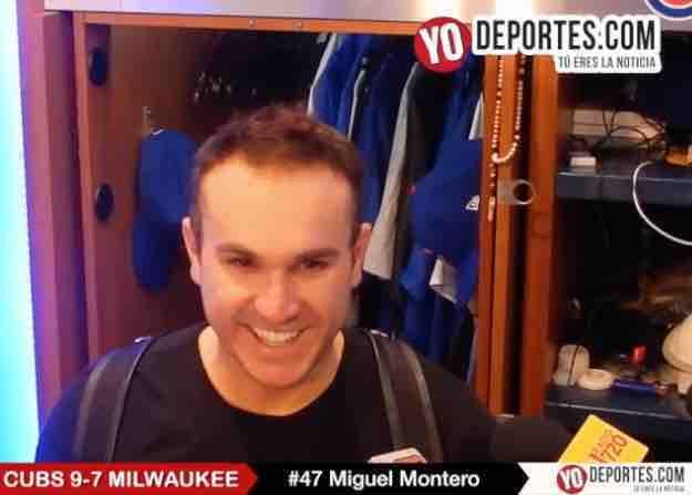 El bate de Miguel Montero rompe racha perdedora de los Cachorros