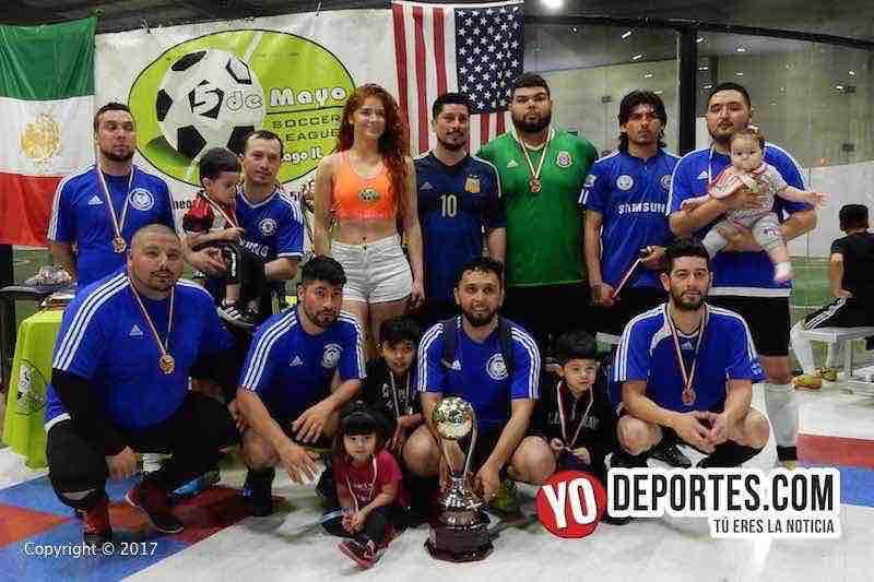 Osos FC campeones de Recopa en 5 de Mayo Soccer League