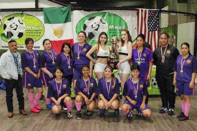 Portugal campeonas en 5 de Mayo Soccer League.