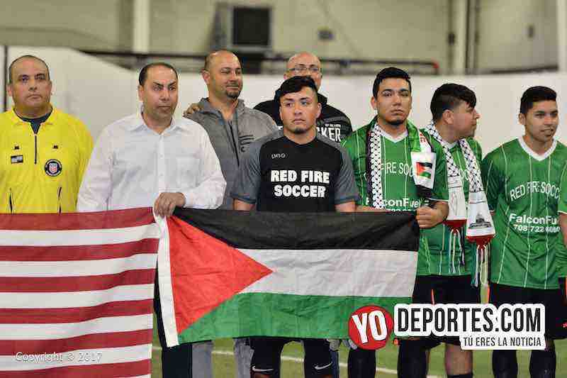 Palestina-Red Fire- Mayo Soccer League