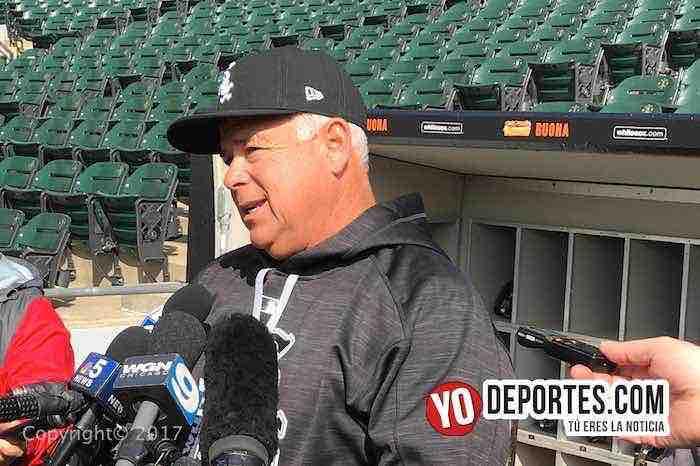 Rick Renteria Chicago White Sox manager