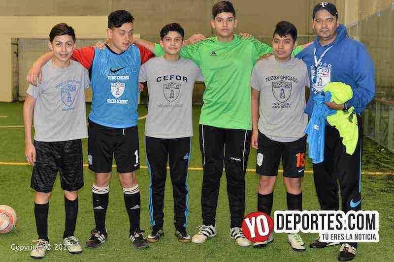 Rumbo a Pachuca-Tuzos Chicago Soccer Academy