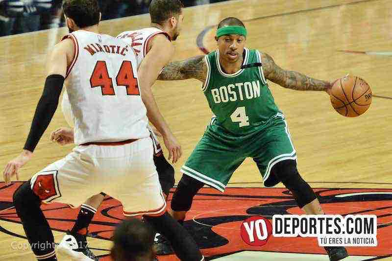 Celtics de Boston empatan la serie a los Bulls en Chicago