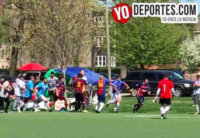 Bronca entre Valedores y Deportivo Hidalgo obliga a posponer final