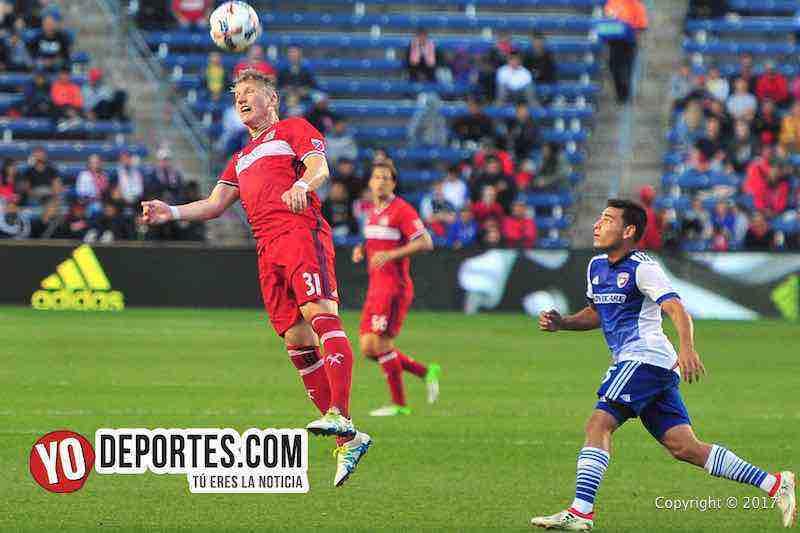 Chicago Fire derroto a Dallas Fc y obtuvo su cuarta victoria consecutiva la imagen el alemán Bastian Schweinsteiger