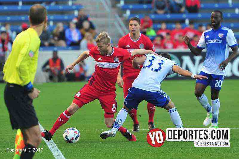 Michael de Leeuw- Chicago Fire 2-1 Dallas FC