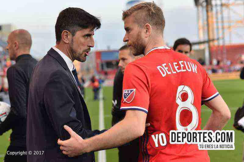 Veljko Paunovic-Michael de Leeuw-Chicago Fire 2-1 Dallas FC