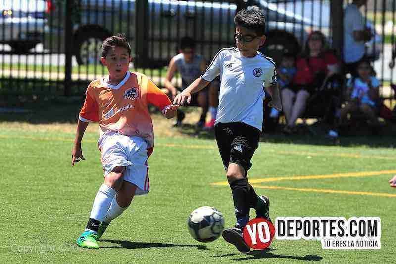 Black Lions derrota al Dynamo en la liga infantil Chicago Women Premier