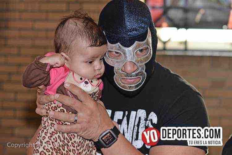 Blue Demon Jr. descarta por ahora un heredero de su máscara