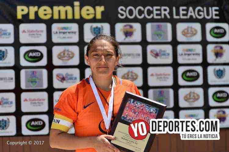 Cuatro goles de Lily Contreras dan tercer lugar a Joliet United