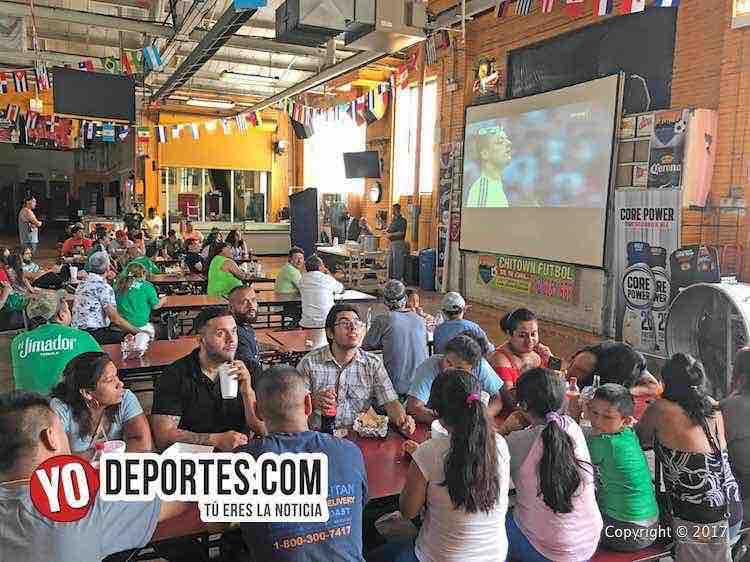 Chitown Futbol festeja empate de México con Portugal