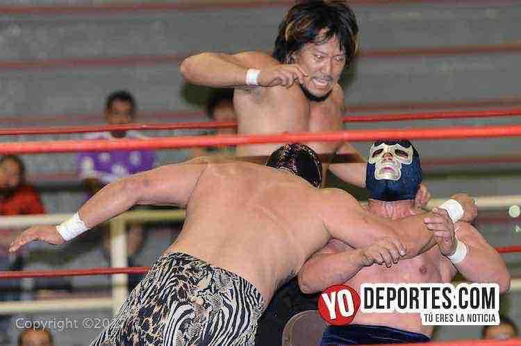 Utamaro-Canek Jr-Blue demon Jr-Cicero Stadium-Promociones-Chavez