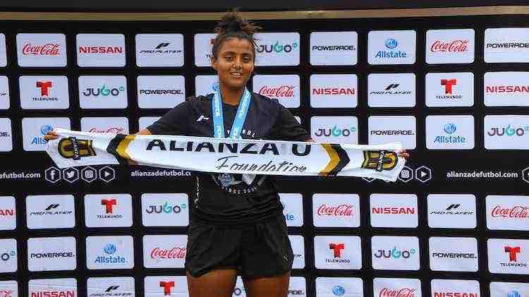 Alondra Arreola invitada por el Pachuca en las visorias de Copa Alianza