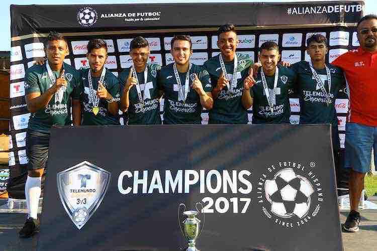 Barrileros FC campeones de 3v3 en la Copa Alianza Chicago