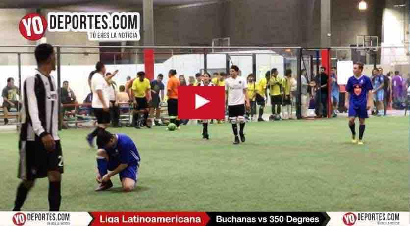 Buchanas conquista la corona del futbol mixto en la Liga Latinoamericana