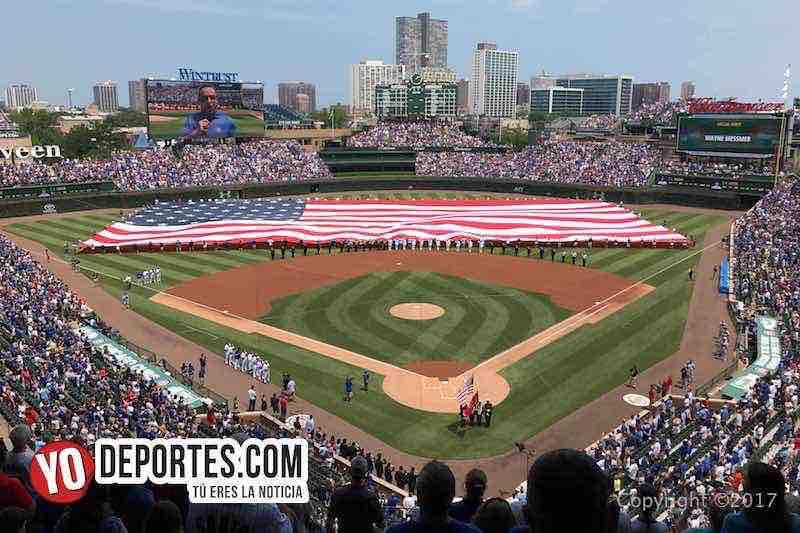 Cuatro de julio en el Wrigley Field de Chicago