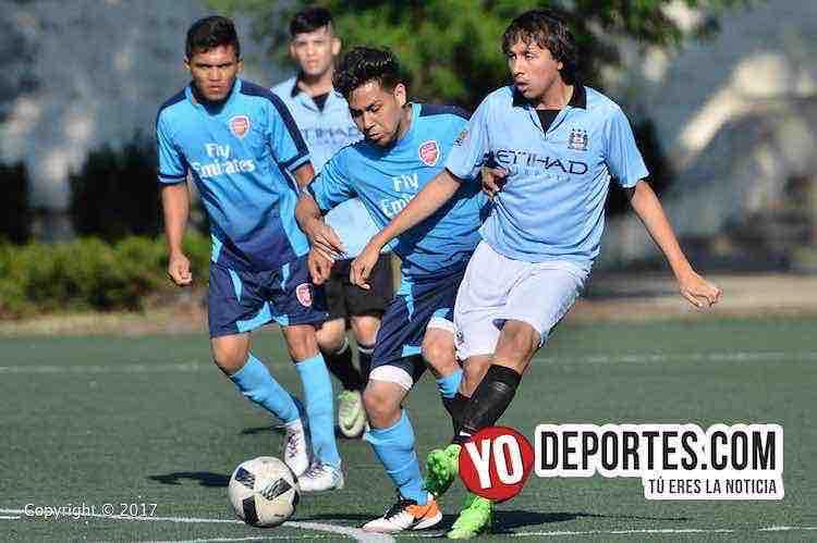 Fierro FC sorprende al Real Cuauhtémoc en la Liga San Francisco