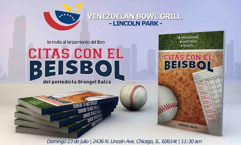 Willson Contreras en la presentación de libro Citas con el Beisbol de Orangel Balza