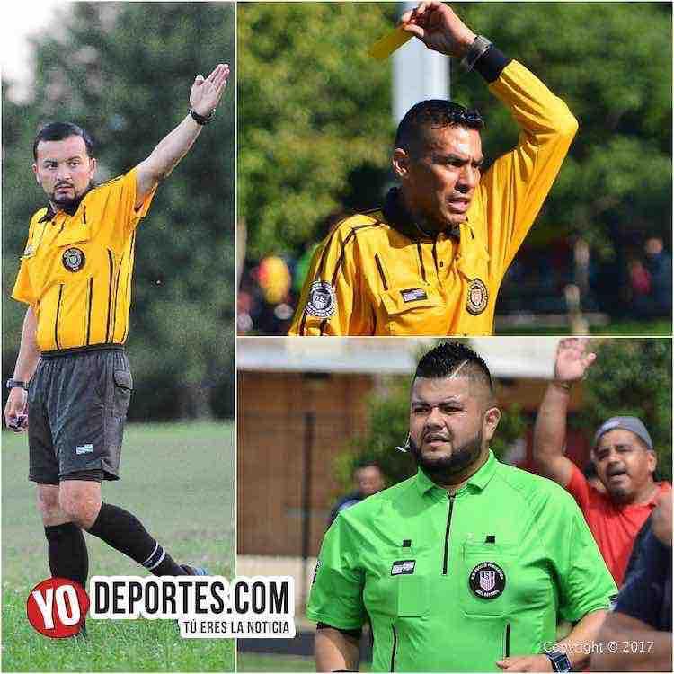 Esta es la tripleta de árbitros para el juego de vuelta Nacional-Real Celaya de CLASA