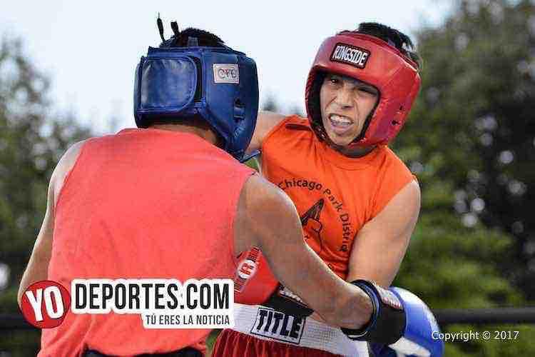 Xavier Luna vs. Adrian Rueda Harrison Park Boxing Show
