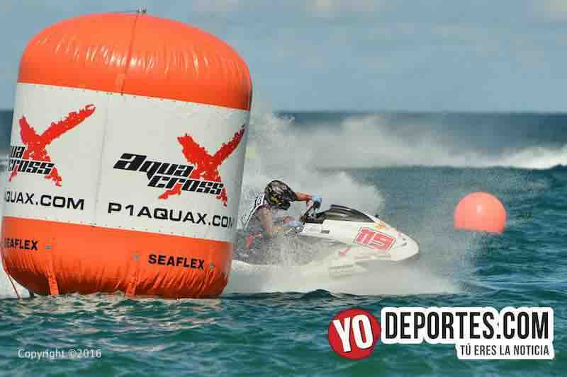 Carreras de motos acuáticas P1 AquaX en Chicago