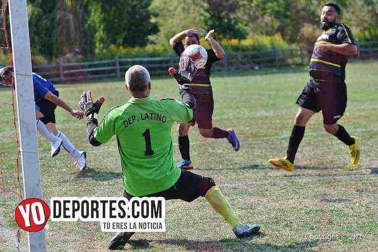 ¡Empatados! Deportivo Latino y Adjuntas definen todo este domingo en la Liga 5 de Mayo Soccer
