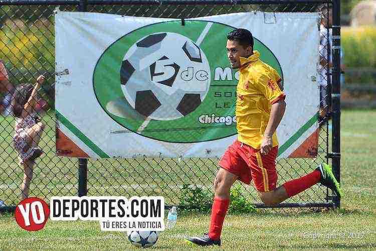 Horarios de las semifinales de ida en la 5 de Mayo Soccer League