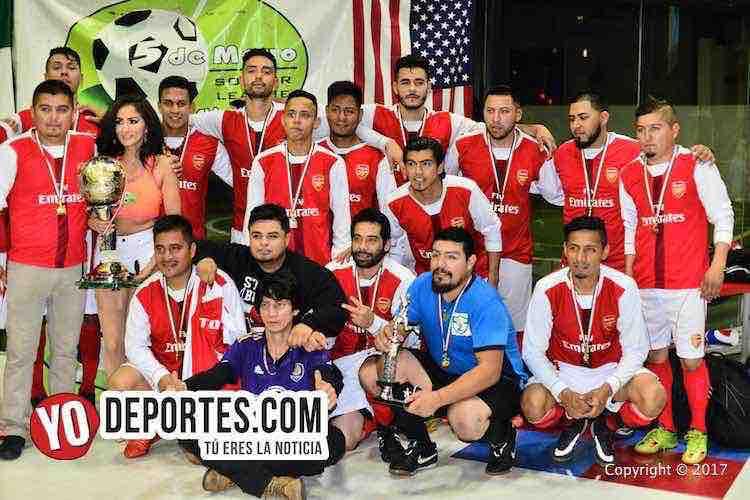 Ixcapuzalco campeón de los jueves en la Liga 5 de Mayo