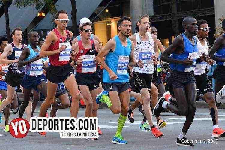 Diego Estrada-Chicago Maraton 2017