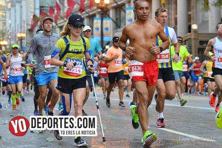 Javier Fuerte-Chicago Maraton 2017