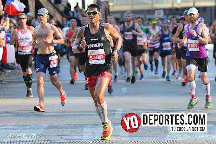 Javier Quevedo-Chicago Maraton