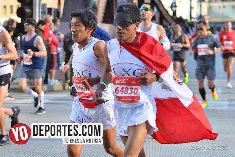 Lauro Casas Rengifo-Chicago Maraton