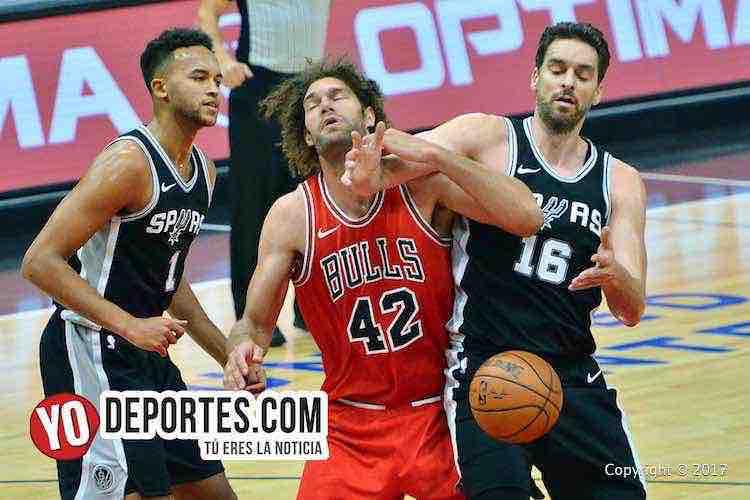 Bulls de Chicago arrancan temporada perdiendo con los Spurs de San Antonio