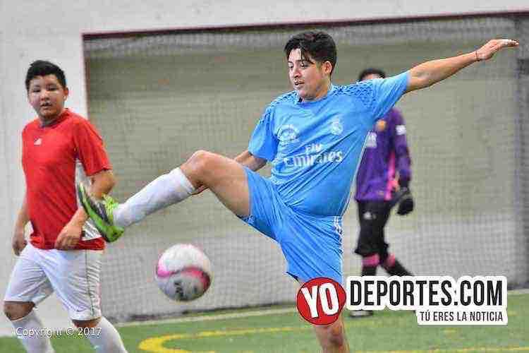 Horarios del domingo en la 5 de Mayo Soccer League
