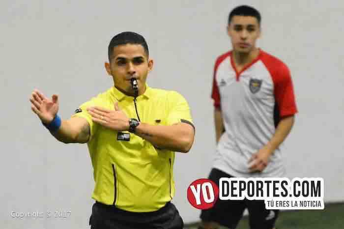 Arbitro-Union Iguala-Fire Evolution-Chitown Futbol