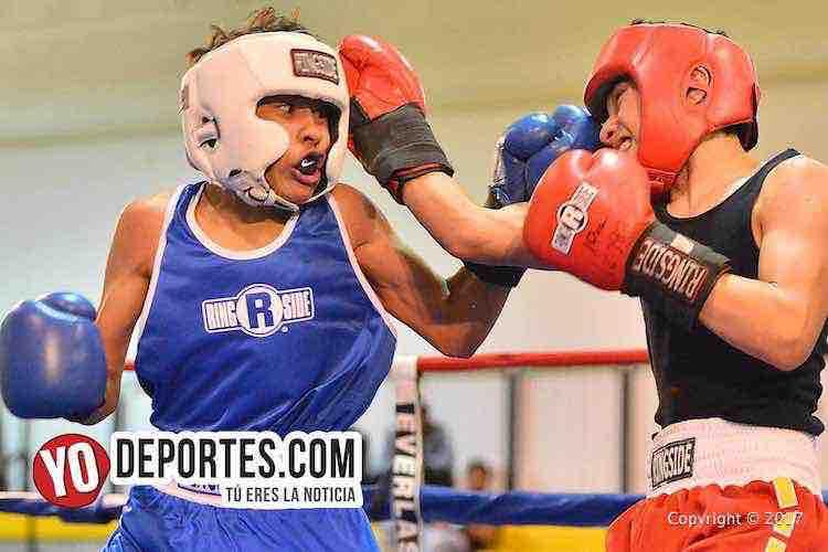 Jose Mejia-Asael Negrete-CYBC-Power Gloves-boxing chicago