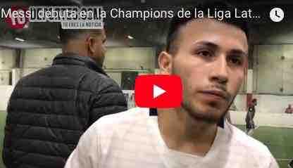 """José """"Messi"""" García debuta en la Champions como dirigente y jugador"""