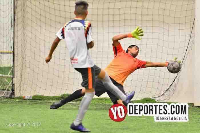 Milán arrebata liderato al Deportivo 357 en la Liga Douglas