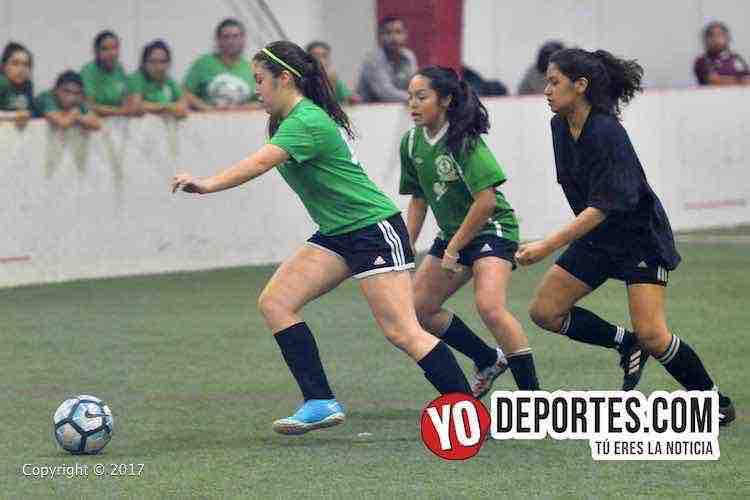 Ruditas y Greewood empatan en Chicago Women Premier Academy Soccer League