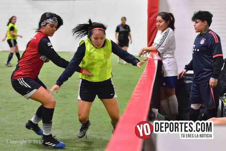 Deportivo DF se aferra al liderato femenil en 5 de Mayo Soccer League