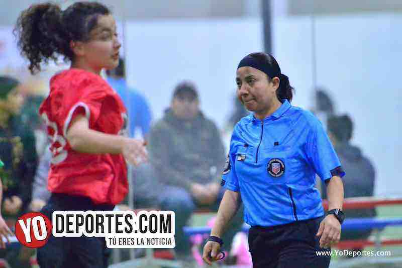 Arbitro Rosalba Luna-UCSN Gonzo-Greenwood-AKD Premier Academy Soccer League