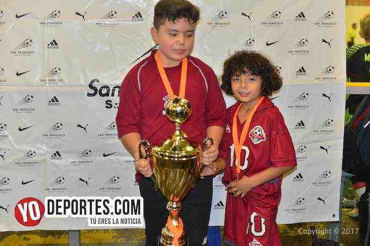Liga San Francisco-Chicago-Finales infantiles-Chino