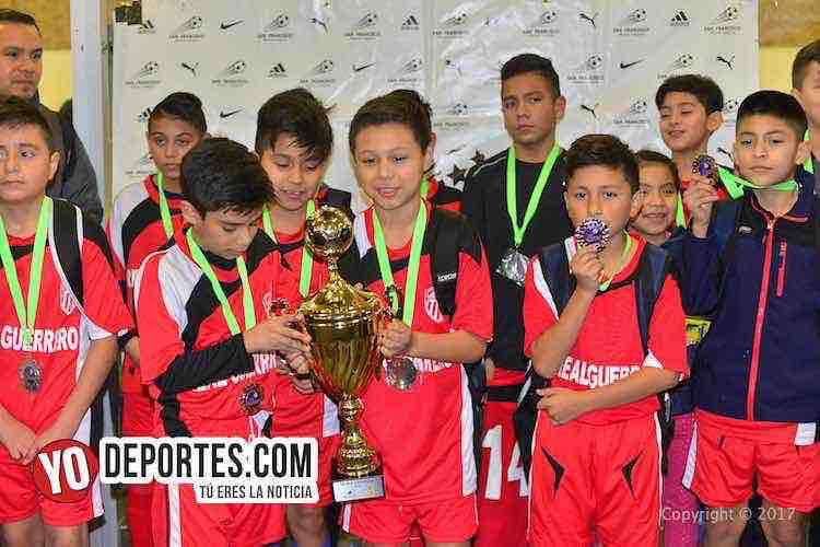 Liga San Francisco-Chicago-Finales infantiles-Real Guerrero