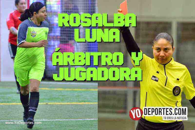 Árbitro Rosalba Luna también sabe meter goles en el futbol