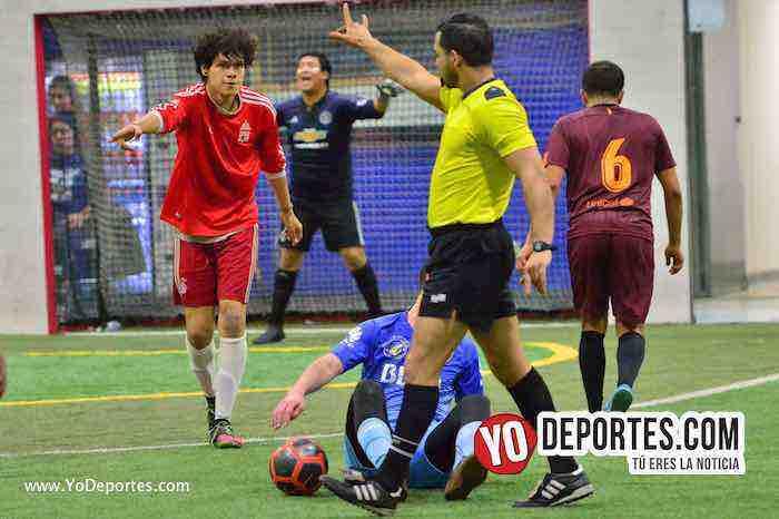 Internacional-Superman-Liga Latinoamericana-arbitro alejandro aguilar